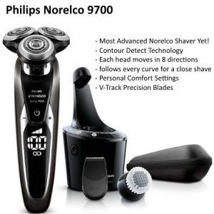 Norelco 9700 head shaver
